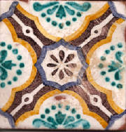 Spanish Tile Pattern Anniso